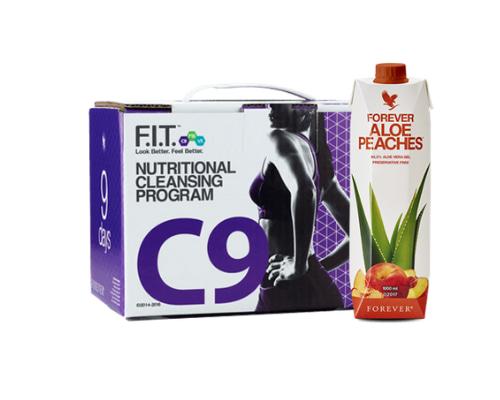 C9 Forever Aloe Pêche